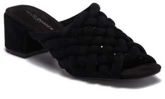 Kelsi Dagger Brooklyn Sky Dress Woven Mule Sandal (Women)