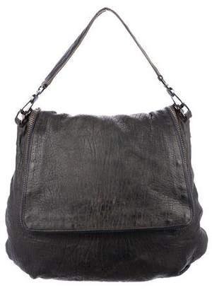 Anya Hindmarch Grained Leather Zip Satchel