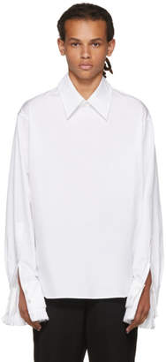 Ann Demeulemeester White Byron Shirt