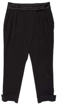 Torn By Ronny Kobo Pleated High-Rise Pants