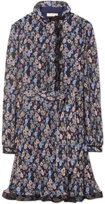Printed Deneuve Dress