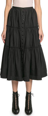 Marc Jacobs The Prairie Tiered Ruffle Skirt
