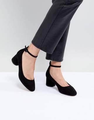 Asos Design DESIGN Skyla Mid Block Heels