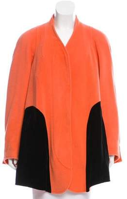 Christian Lacroix Wool & Angora-Blend Short Coat