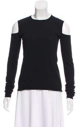 Barbara Bui Wool Cutout-Accented Sweater w/ Tags