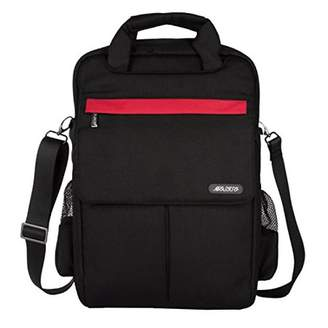 Mosiso Laptop Backpack Shoulder Bag Sleeve Briefcase, Multi-usage Polyester 11/13/15 Inch Laptop / Notebook Computer / MacBook / MacBook Air / MacBook Pro Carrying Case, Black