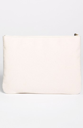 Kate Spade New York 'south Of The Border - Gia' Canvas Pouch