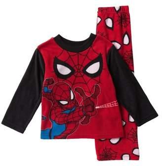 Spiderman AME Fleece Pajama Set (Little Boys & Big Boys)