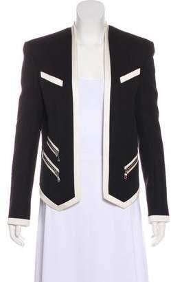 Balmain Wool Colorblock Blazer