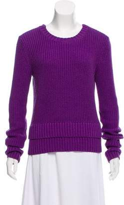 MICHAEL Michael Kors Zipper-Accented Crew Neck Sweater