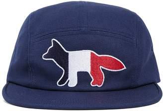 MAISON KITSUNÉ Tricolor Fox Hat