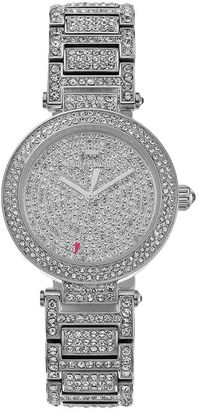 Juicy Couture Women's Victoria Crystal Stainless Steel Watch $495 thestylecure.com