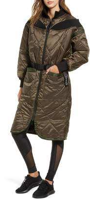 Ivy Park R) Bardot Quilted Coat