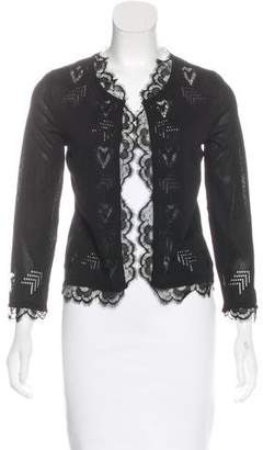 Chanel Open Front Lace Cardigan w/ Tags