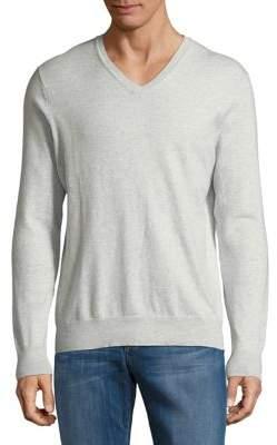 Black & Brown Black Brown V-Neck Sweater