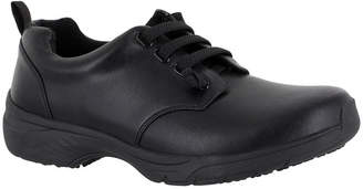 EASY WORKS BY EASY STREET Easy Works By Easy Street Womens Peyton Lace-up Round Toe Oxford Shoes