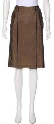 Gucci Knee-Length Tulle Skirt