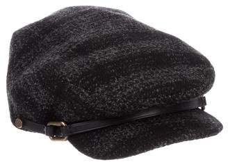 Burberry Wool Check Cap