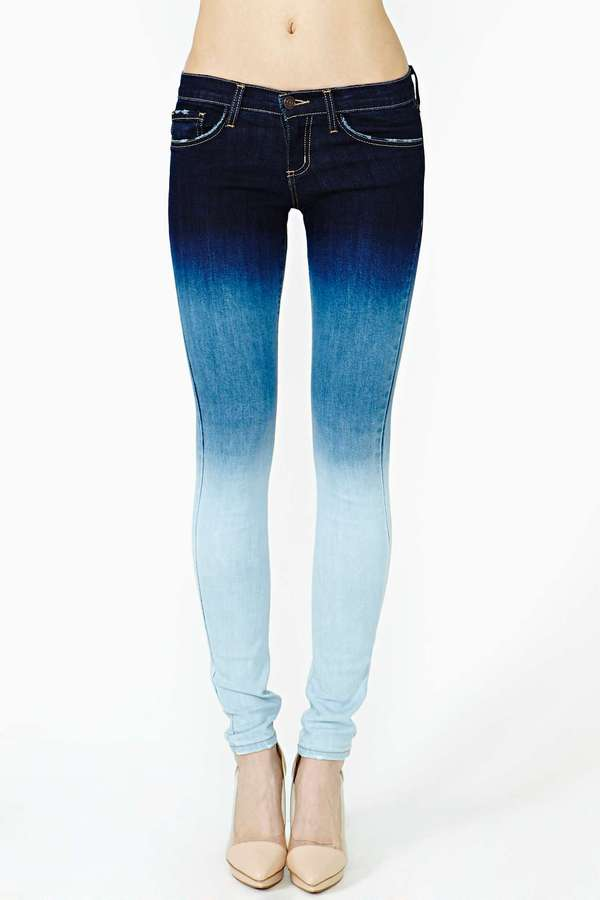 Nasty Gal Easy Fade Skinny Jeans