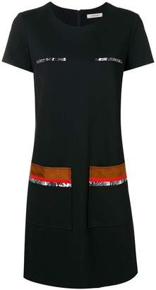 Schumacher Dorothee patch pocket shift dress