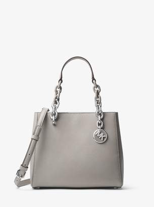 MICHAEL Michael Kors Cynthia Small Saffiano Leather Satchel