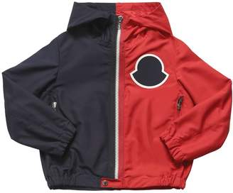 Moncler Omer Two Tone Nylon Hooded Jacket