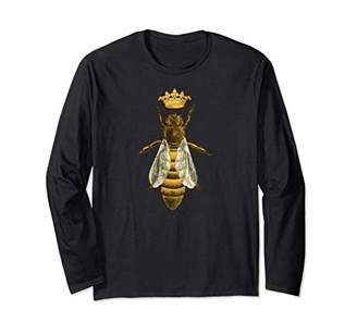 Queen Bee T-shirt Funny Bee Cool Boss Lady Crown Tee
