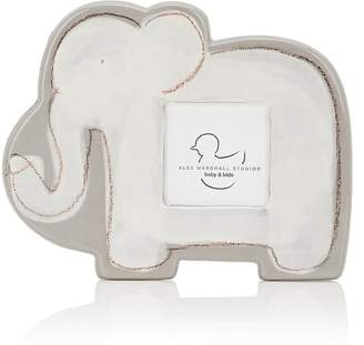 "Alex Marshall Studios Ceramic Elephant 3"" x 3"" Picture Frame"