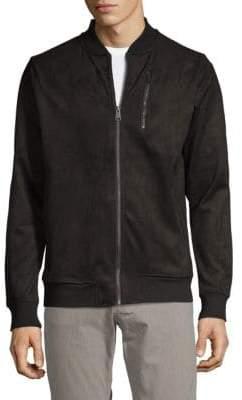 Ben Sherman Textured Bomber Jacket