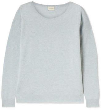 Blue Crop Sweater Shopstyle