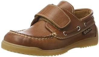 Naturino Unisex Kids 4110 Boat Shoes Brown Size: