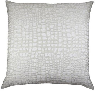 Ann Gish & The Art of Home Croc Throw Pillow & The Art of Home