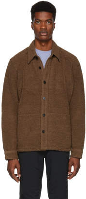 Nanamica Brown Wool Pile CPO Jacket