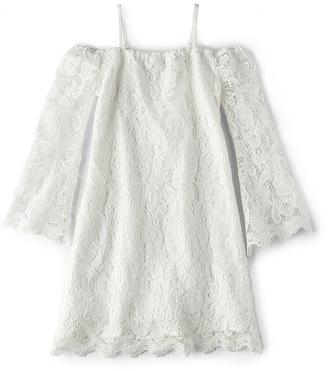 Bardot Junior Lace Bell Sleeve Dress $90 thestylecure.com