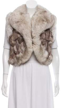 Jocelyn Artic Snow Fox Vest