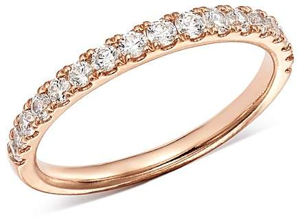Bloomingdale's Diamond Shared Prong Stacking Band in 14K Rose Gold, 0.50 ct. t.w. - 100% Exclusive
