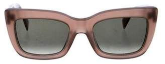 Celine Oversize Cat-Eye Sunglasses
