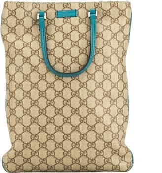 Gucci Flat PVC Monogram Tote (4102007)
