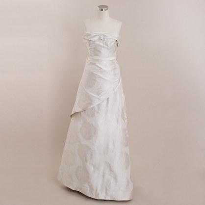 J.Crew Dominique gown