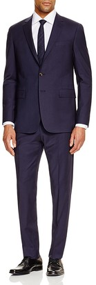Todd Snyder Navy Worsted Wool Slim Fit Suit $595 thestylecure.com