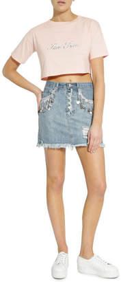 Glamorous Anitque Wash Skirt