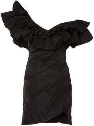 Alexis Benicia Asymmetric Dramatic Ruffle Mini Dress Size: S