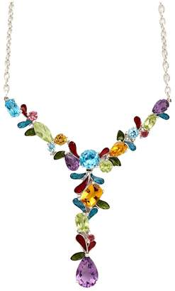 Town & Country Sterling Silver Mosaic Necklace