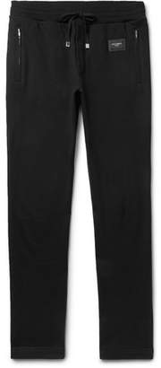 Dolce & Gabbana Slim-Fit Loopback Cotton-Jersey Sweatpants