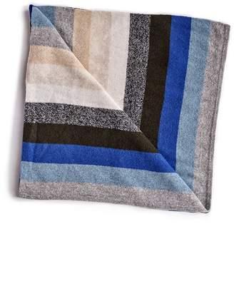 White + Warren Cashmere Striped Baby Blanket