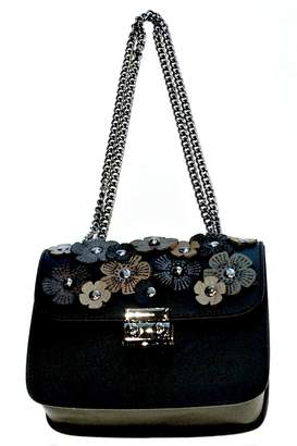 Leather Country Flower Leather Bag