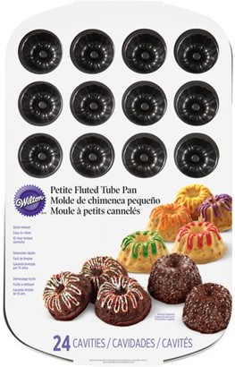 Wilton Bakeware 24-Cavity Mini Fluted Tube Pan 2105-7790