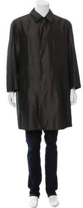 Gucci Silk Car Coat