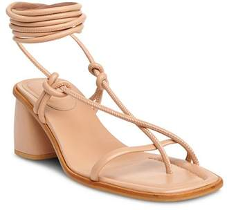 Whistles Women's Roman Ankle Tie Sandals