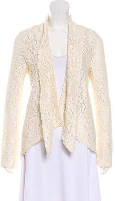 Elizabeth and James Lace Open Cardigan